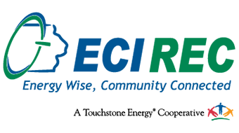 East-Central Iowa Rural Electric Cooperative (ECI REC) logo